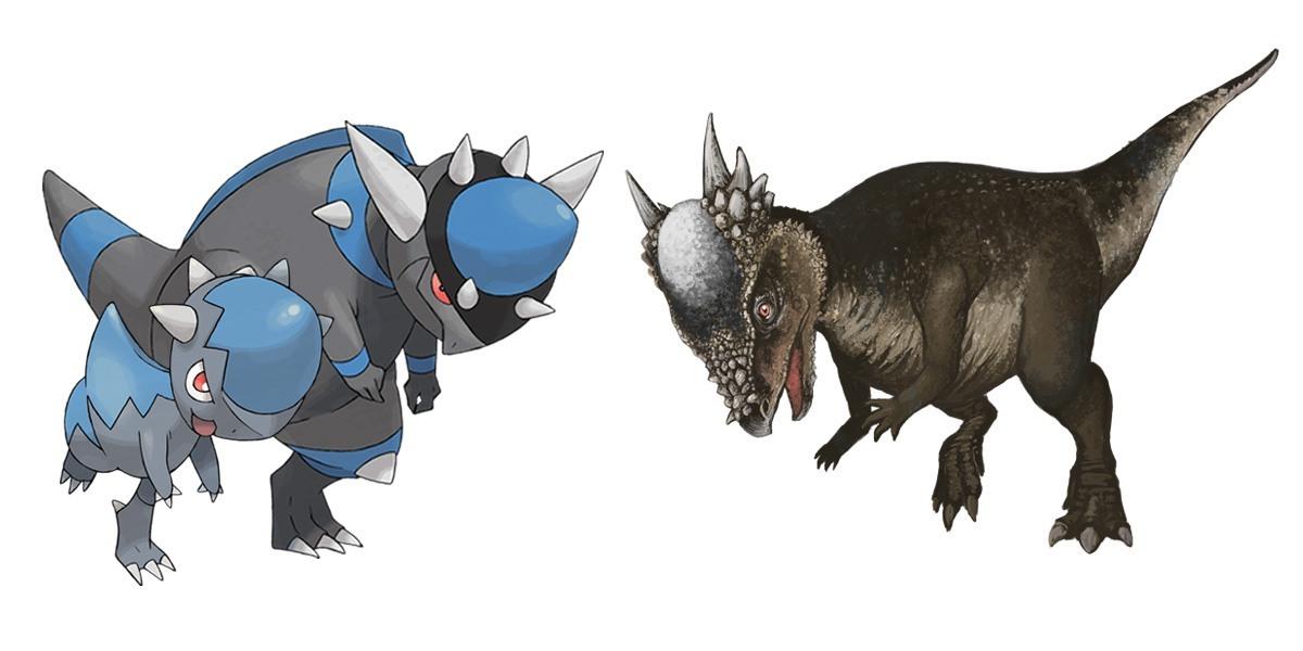 Rampardos & Pachycephalosaurus
