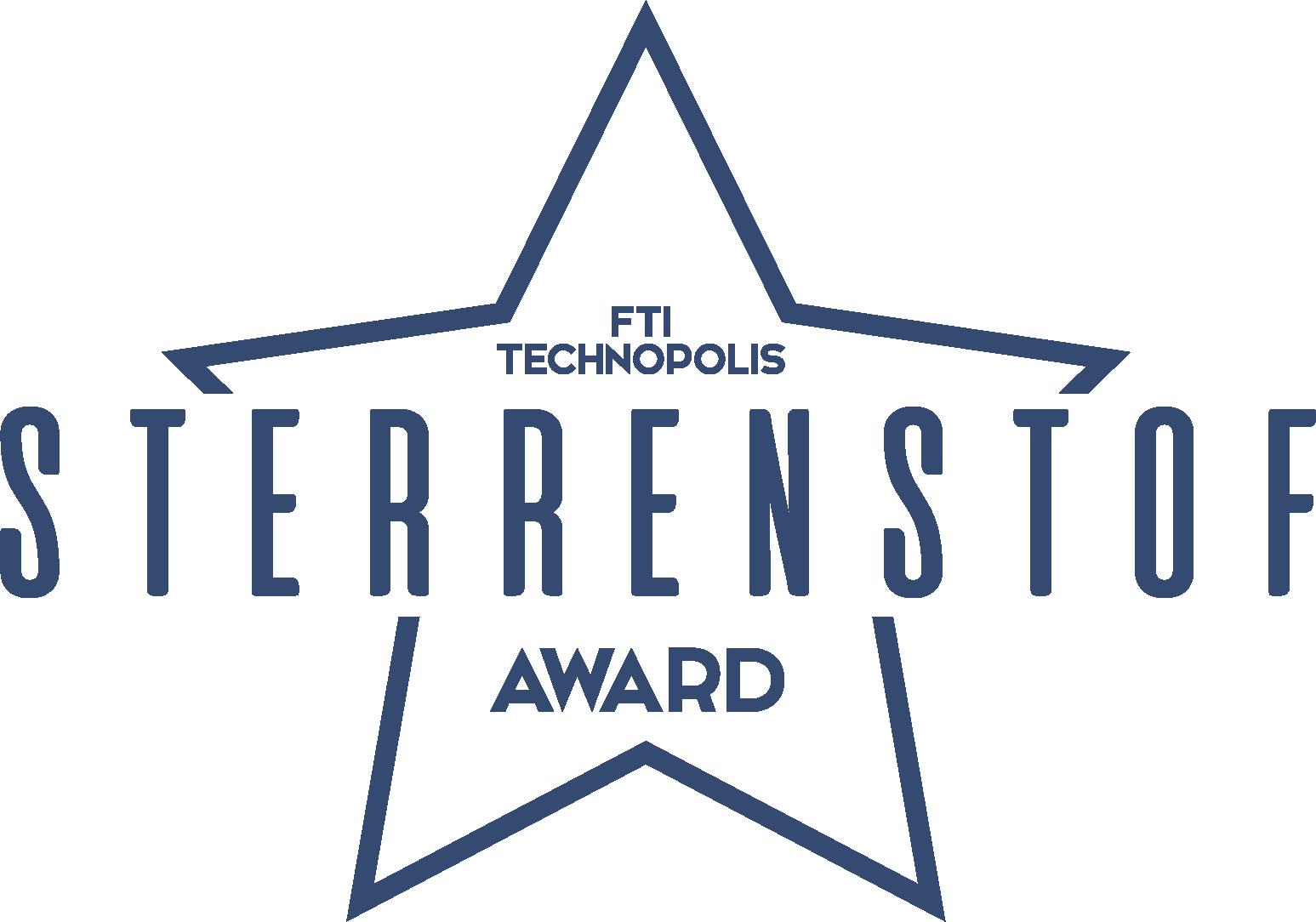 FTI Technopolis Sterrenstof award donkerblauw